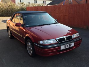 1995 Rover 214 Cabriolet in mint condition-Low mileage For Sale