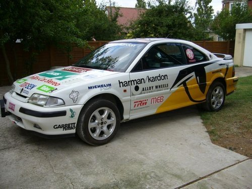 1992 Ex - Works Rover Factory Tom Cat 220 Turbo Coupe  For Sale (picture 1 of 6)