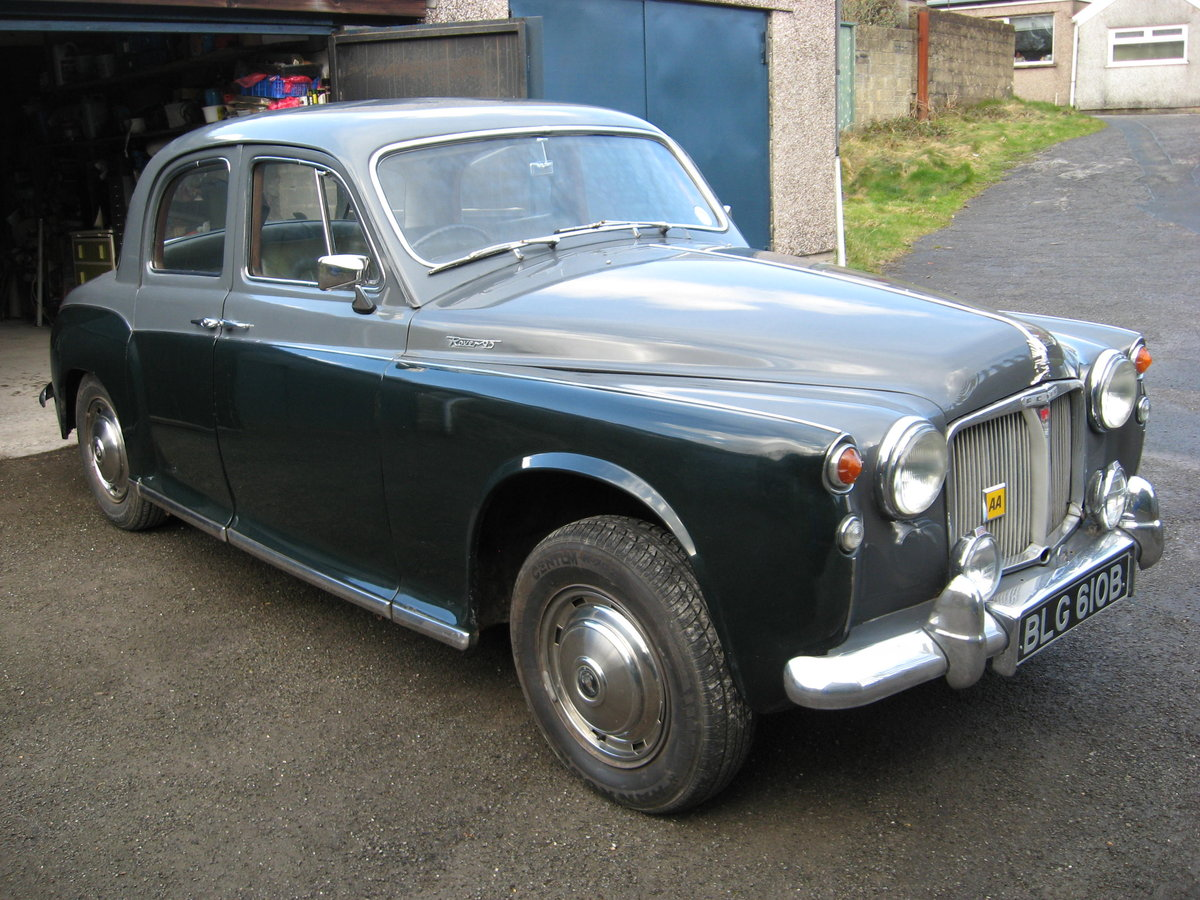 Rover P4 95 (1964) SOLD (picture 1 of 6)