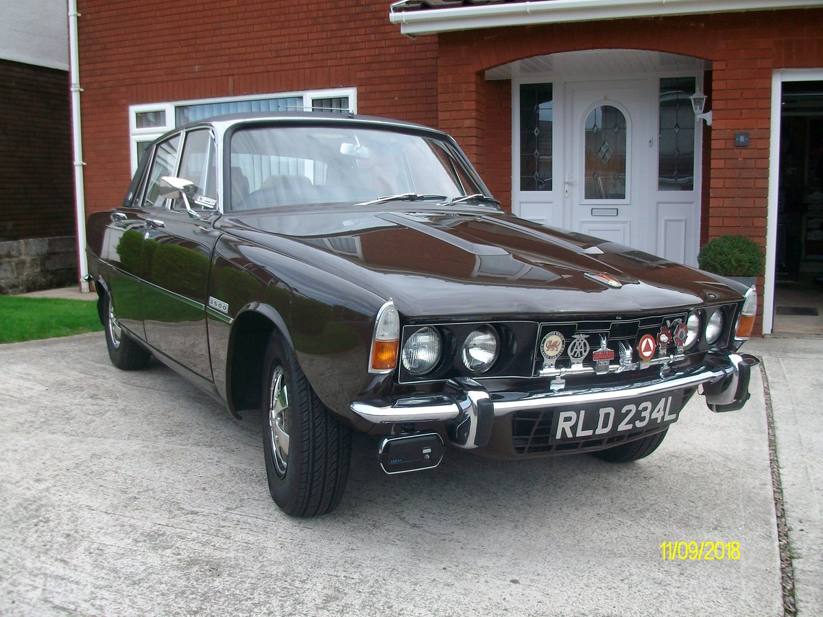 1973 rover p6 3.500 v8 SOLD (picture 1 of 6)
