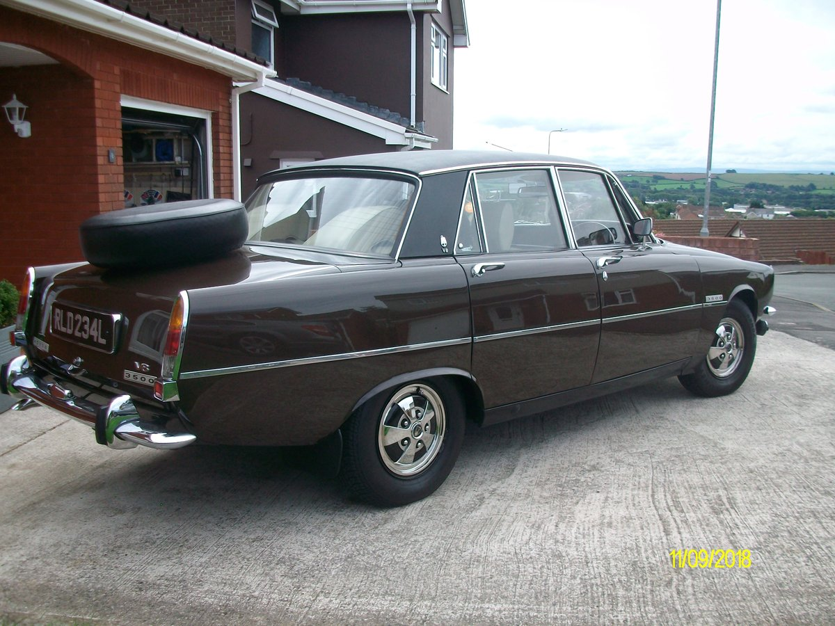 1973 rover p6 3.500 v8 For Sale (picture 2 of 6)