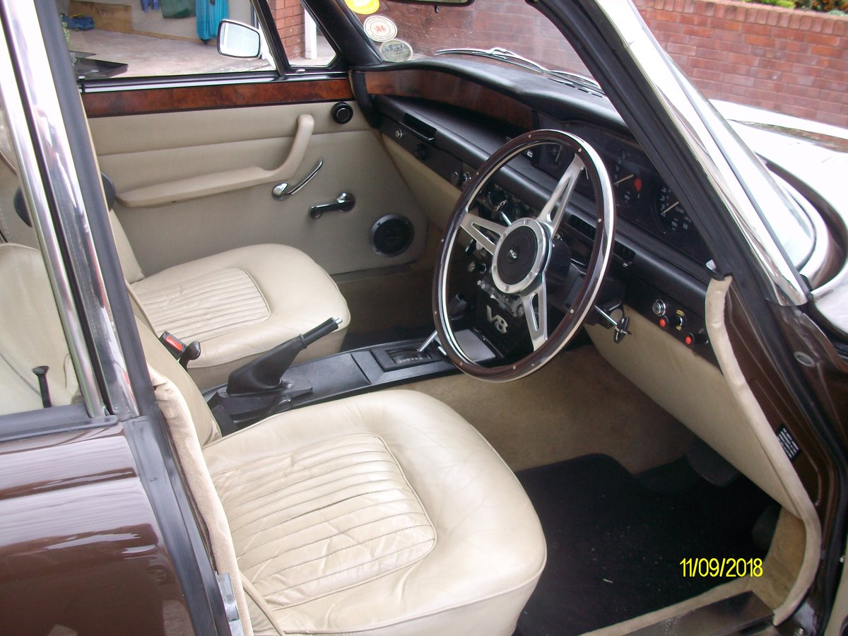 1973 rover p6 3.500 v8 SOLD (picture 3 of 6)