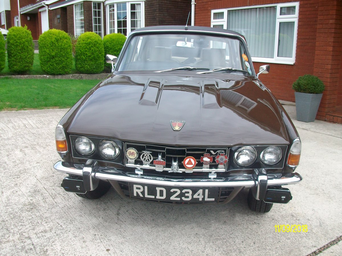 1973 rover p6 3.500 v8 SOLD (picture 6 of 6)