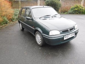 **MARCH AUCTION**1997 Rover 114 SLI SOLD by Auction