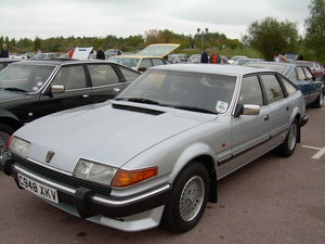 1986 Rover SD1 Vanden Plas For Sale by Auction