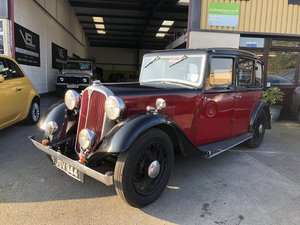 1934 Honest Rover 12 Six Light Saloon 4 cylinder For Sale