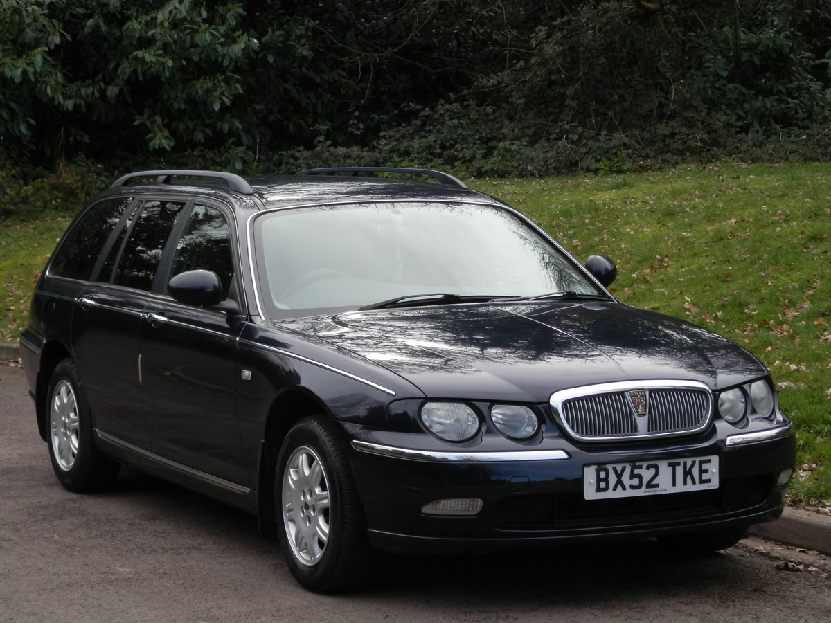 Rover 75 Club CDT Tourer. Bargain To Clear.. SOLD (picture 1 of 6)