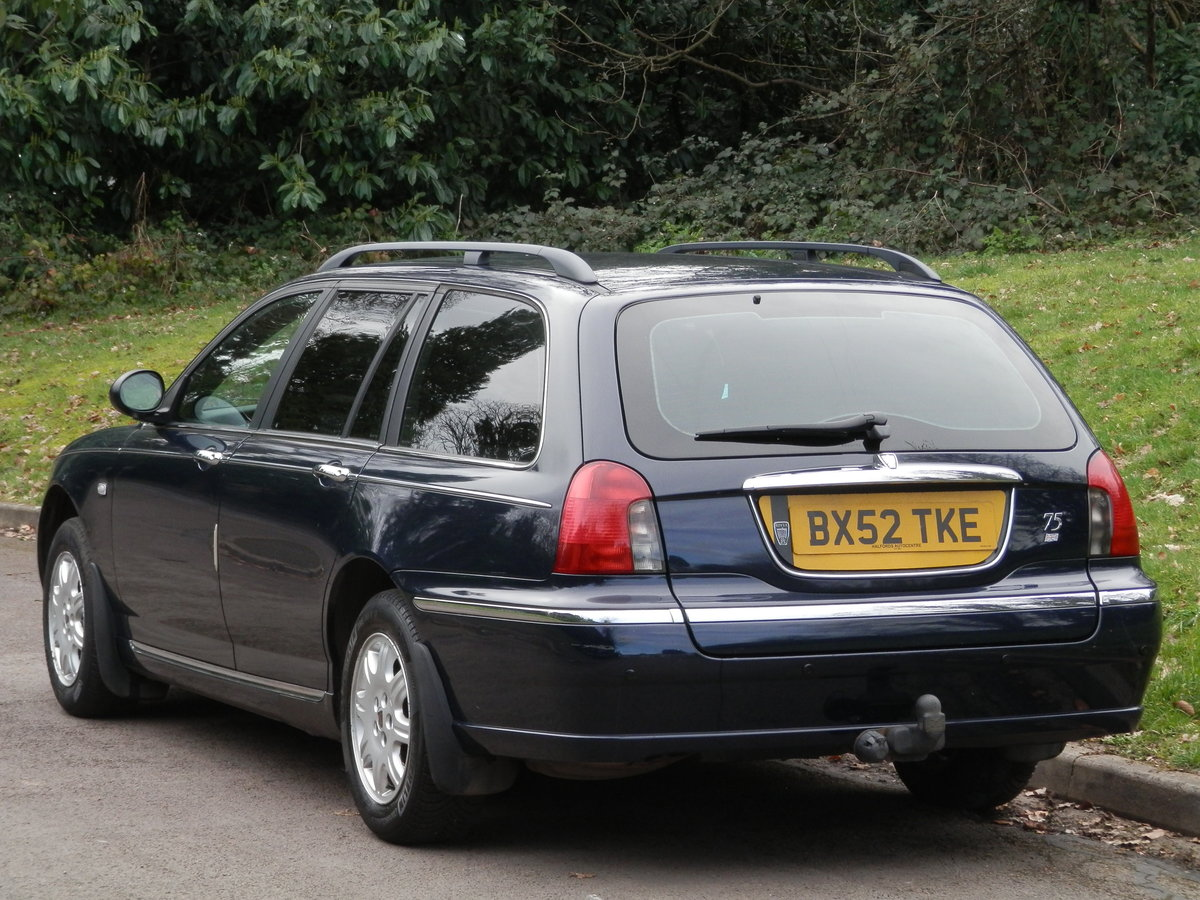 Rover 75 Club CDT Tourer. Bargain To Clear.. SOLD (picture 6 of 6)