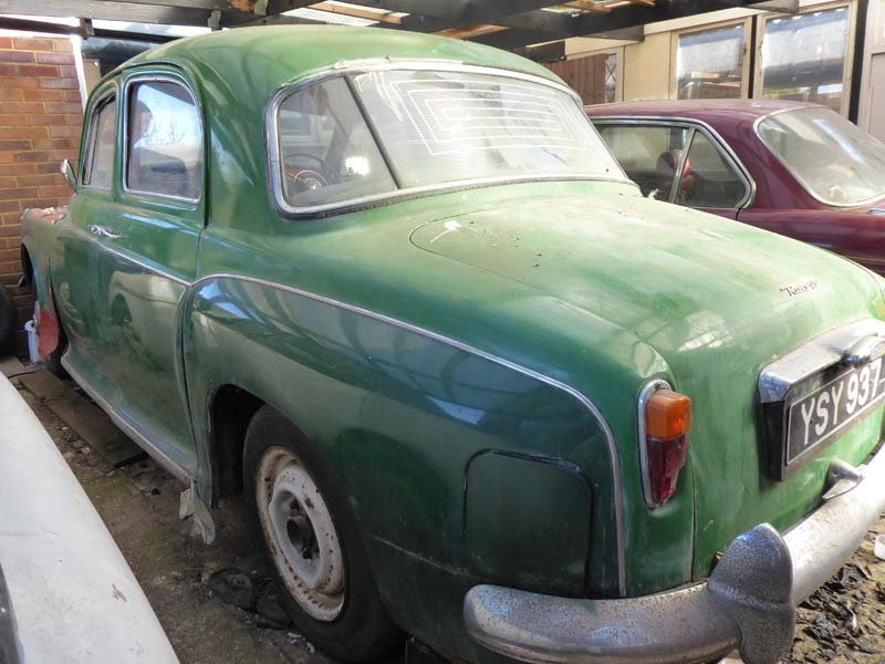 1960 Auction of One Owner Collection Cars & Landrovers & Spares SOLD by Auction (picture 1 of 5)