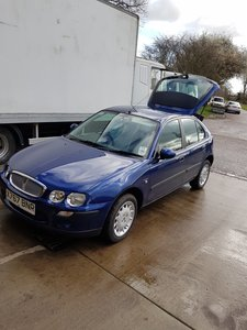 2001 Rover 25 Collectors item