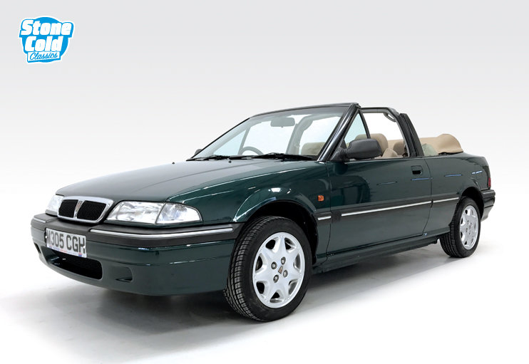 1994 Rover 214 SE 16v Cabriolet with just 13,500 miles! SOLD (picture 1 of 6)