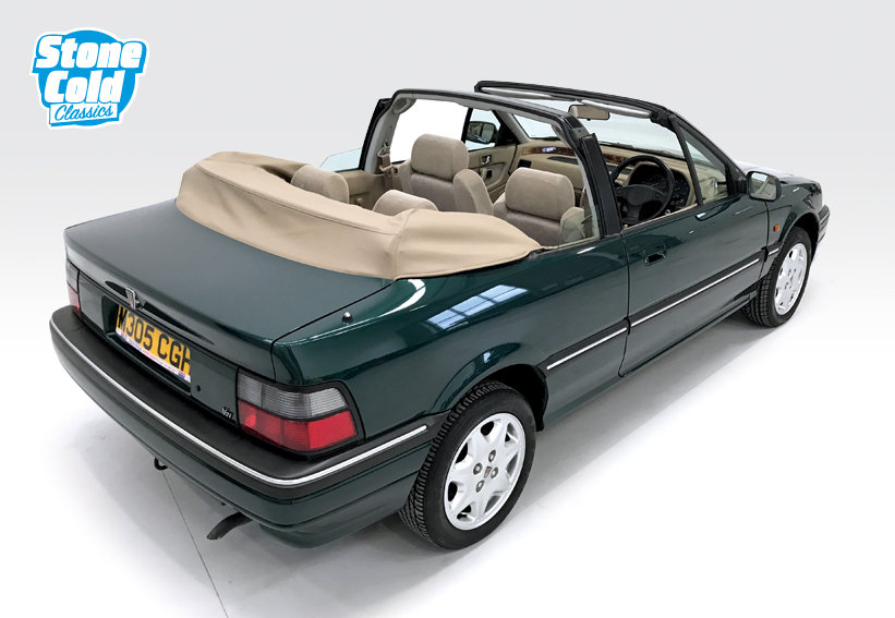 1994 Rover 214 SE 16v Cabriolet with just 13,500 miles! SOLD (picture 2 of 6)