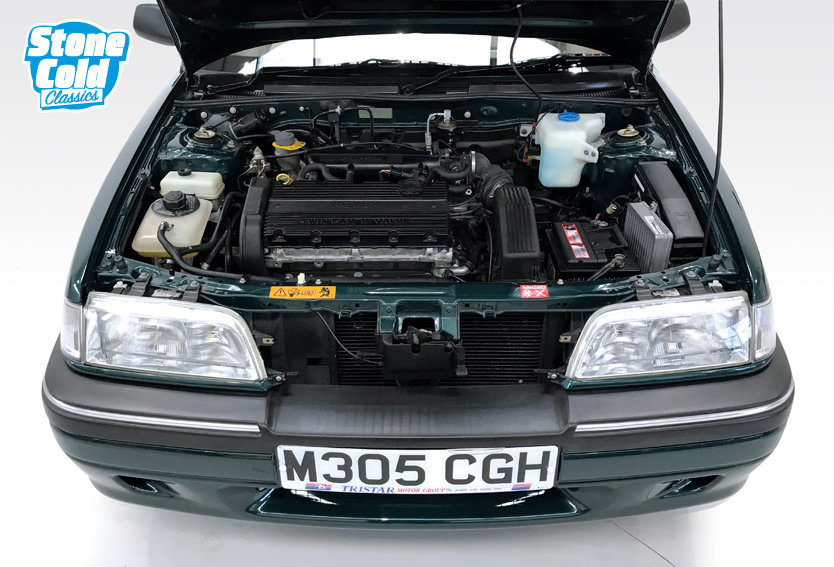1994 Rover 214 SE 16v Cabriolet with just 13,500 miles! SOLD (picture 4 of 6)