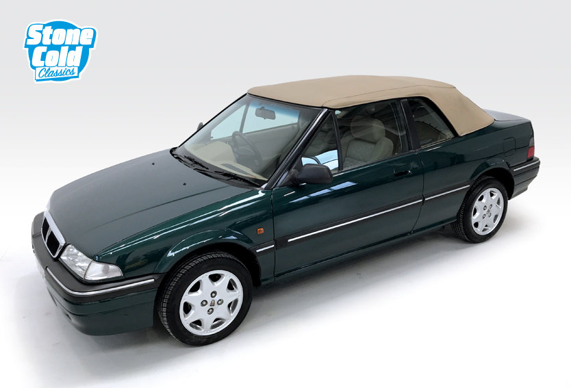 1994 Rover 214 SE 16v Cabriolet with just 13,500 miles! SOLD (picture 6 of 6)