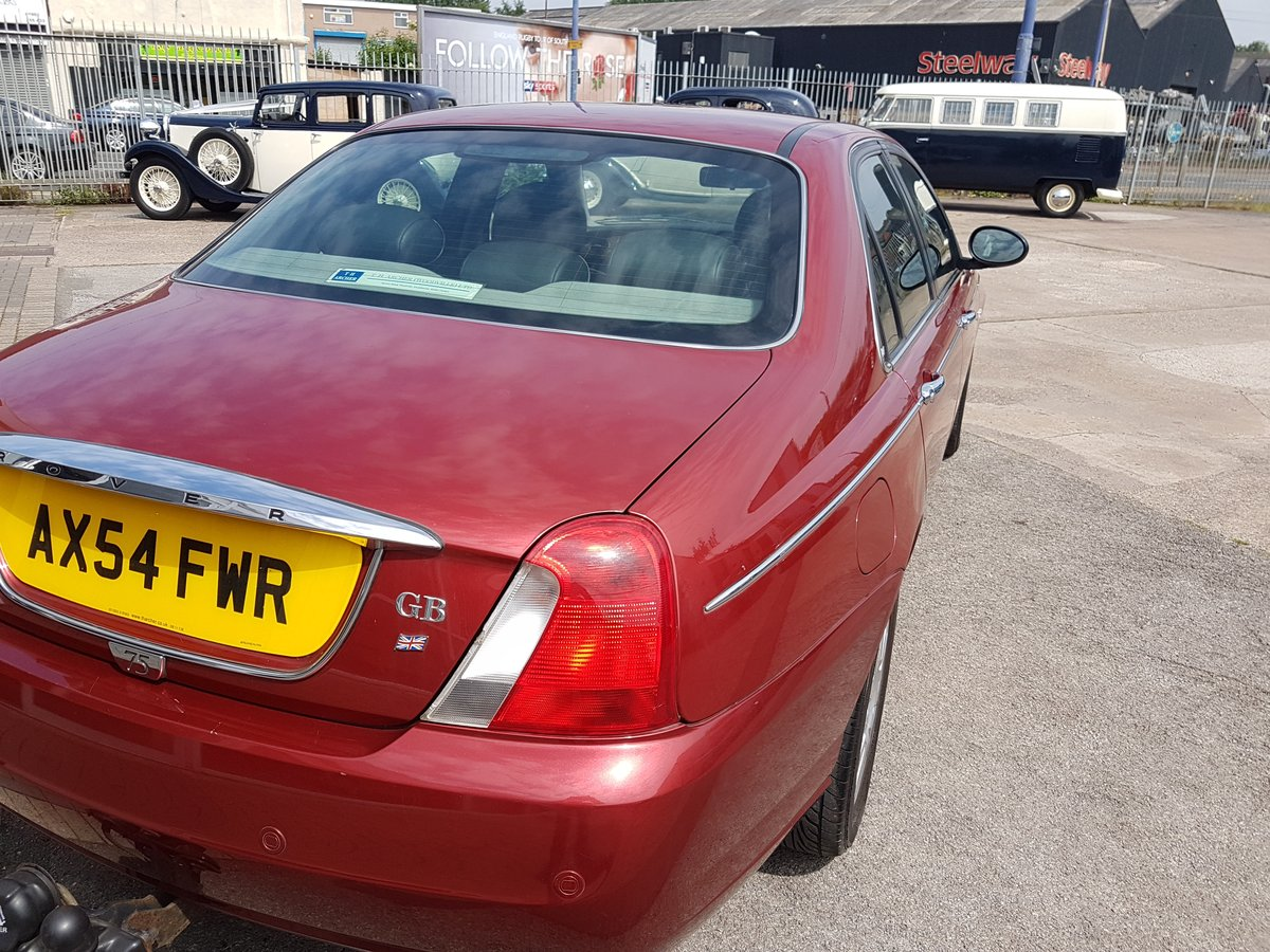 2004 fabulous rover 75se For Sale (picture 5 of 6)