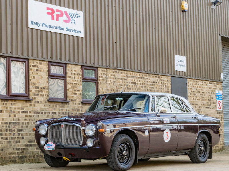 1970 Rover P5B Coupe Classic Endurance Rally Car For Sale (picture 1 of 6)