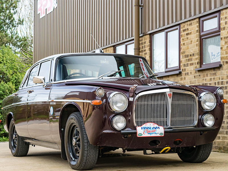 1970 Rover P5B Coupe Classic Endurance Rally Car For Sale (picture 2 of 6)