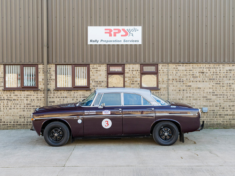 1970 Rover P5B Coupe Classic Endurance Rally Car For Sale (picture 3 of 6)