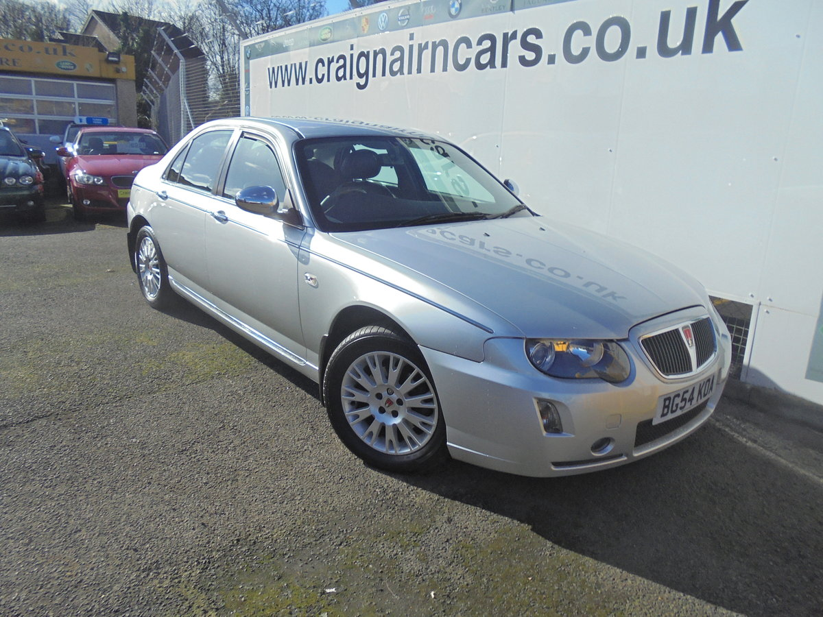 2004 54 ROVER 75 2.0 CONNOISSEUR SE CDTI 4D AUTO 129 BHP For Sale (picture 1 of 6)