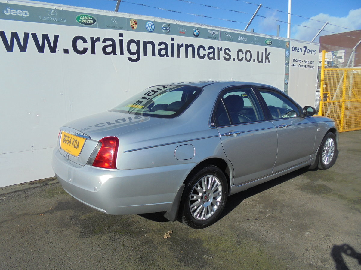2004 54 ROVER 75 2.0 CONNOISSEUR SE CDTI 4D AUTO 129 BHP For Sale (picture 3 of 6)