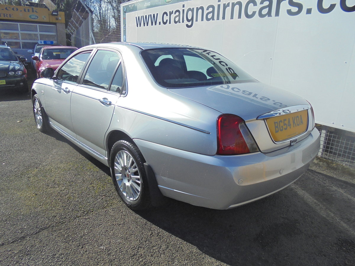 2004 54 ROVER 75 2.0 CONNOISSEUR SE CDTI 4D AUTO 129 BHP For Sale (picture 5 of 6)