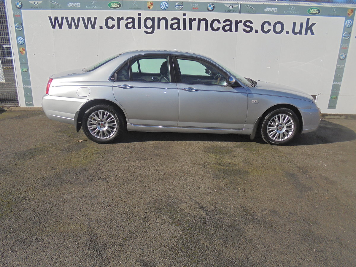 2004 54 ROVER 75 2.0 CONNOISSEUR SE CDTI 4D AUTO 129 BHP For Sale (picture 6 of 6)