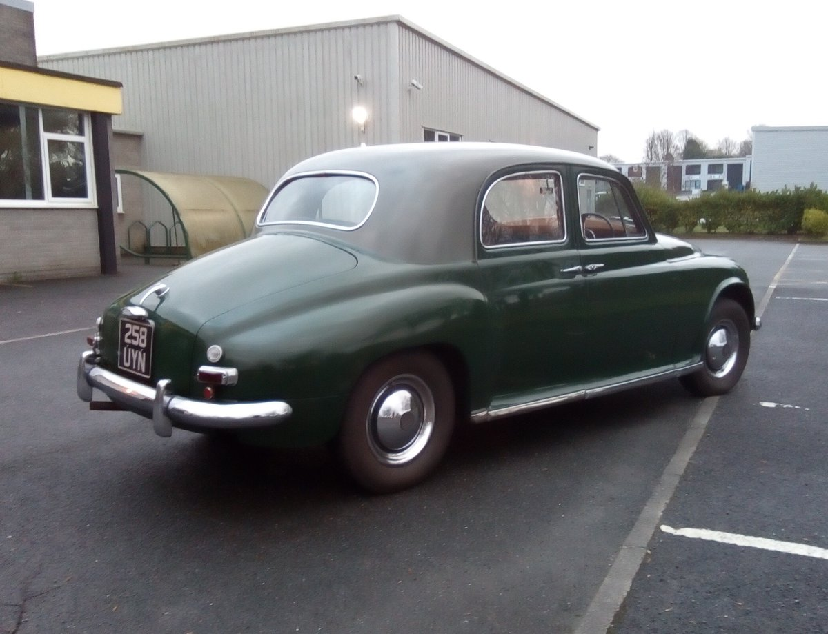 RARE-1951 ROVER 75 SPORTS SALOON.FULLY ROAD WORTHY For Sale (picture 2 of 6)