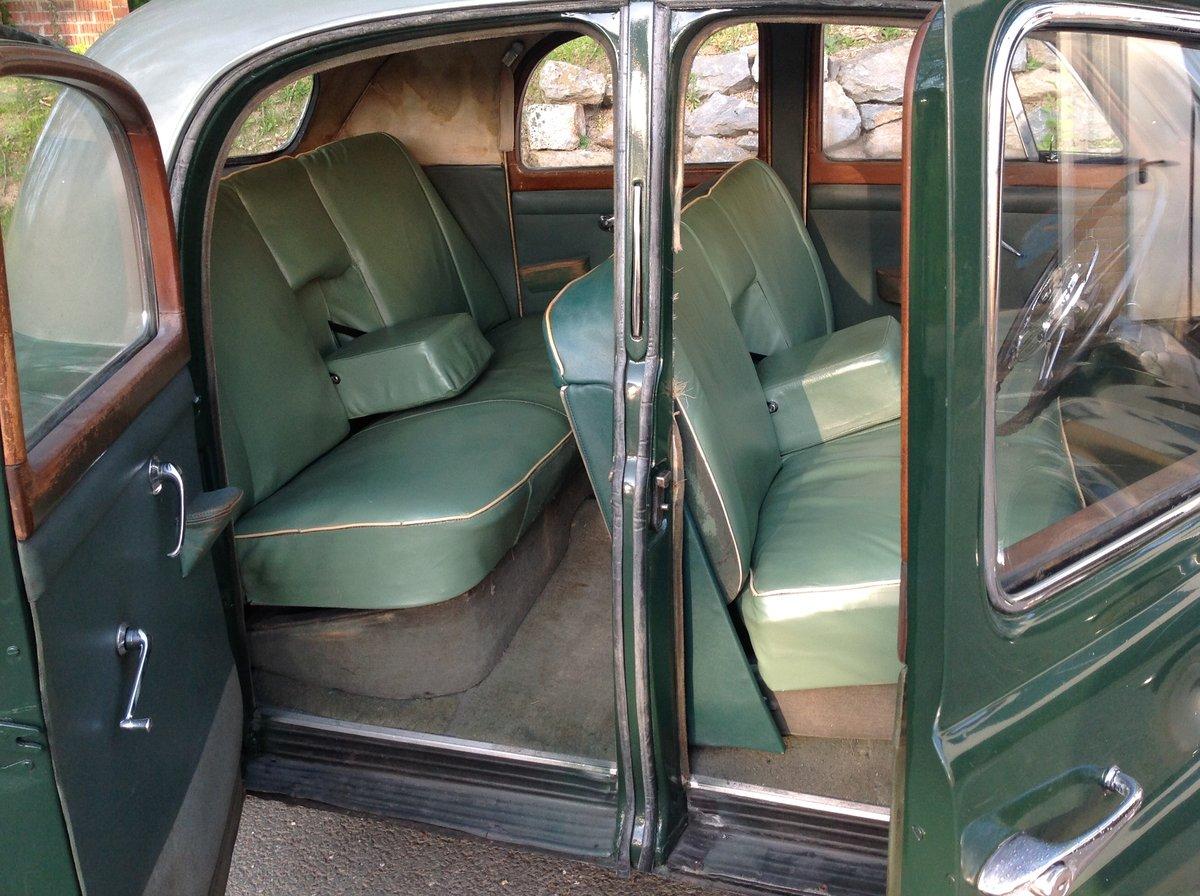 RARE-1951 ROVER 75 SPORTS SALOON.FULLY ROAD WORTHY For Sale (picture 3 of 6)