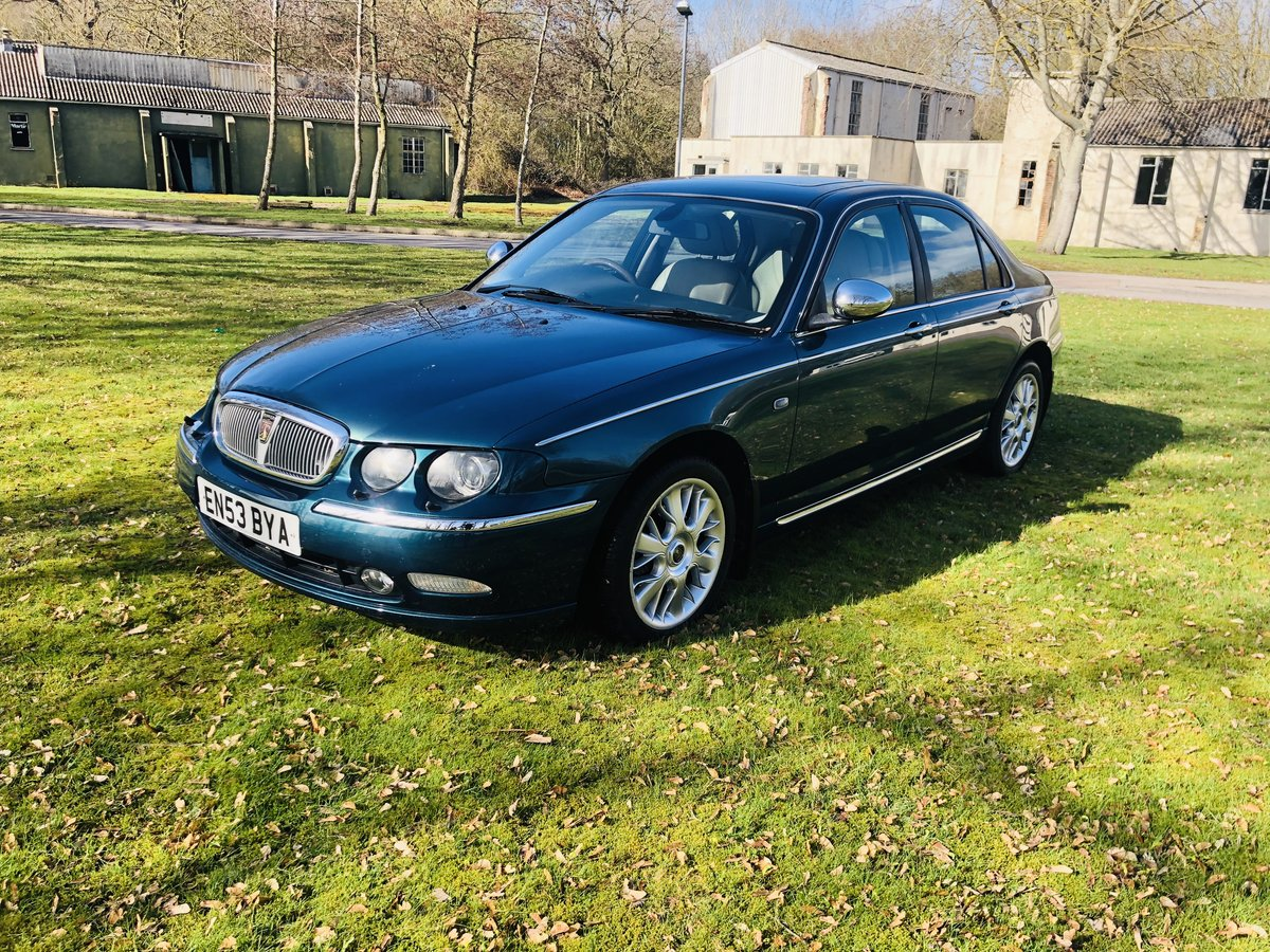 2003 Rover 75 Connoisseur Se Saloon v6  For Sale (picture 2 of 6)