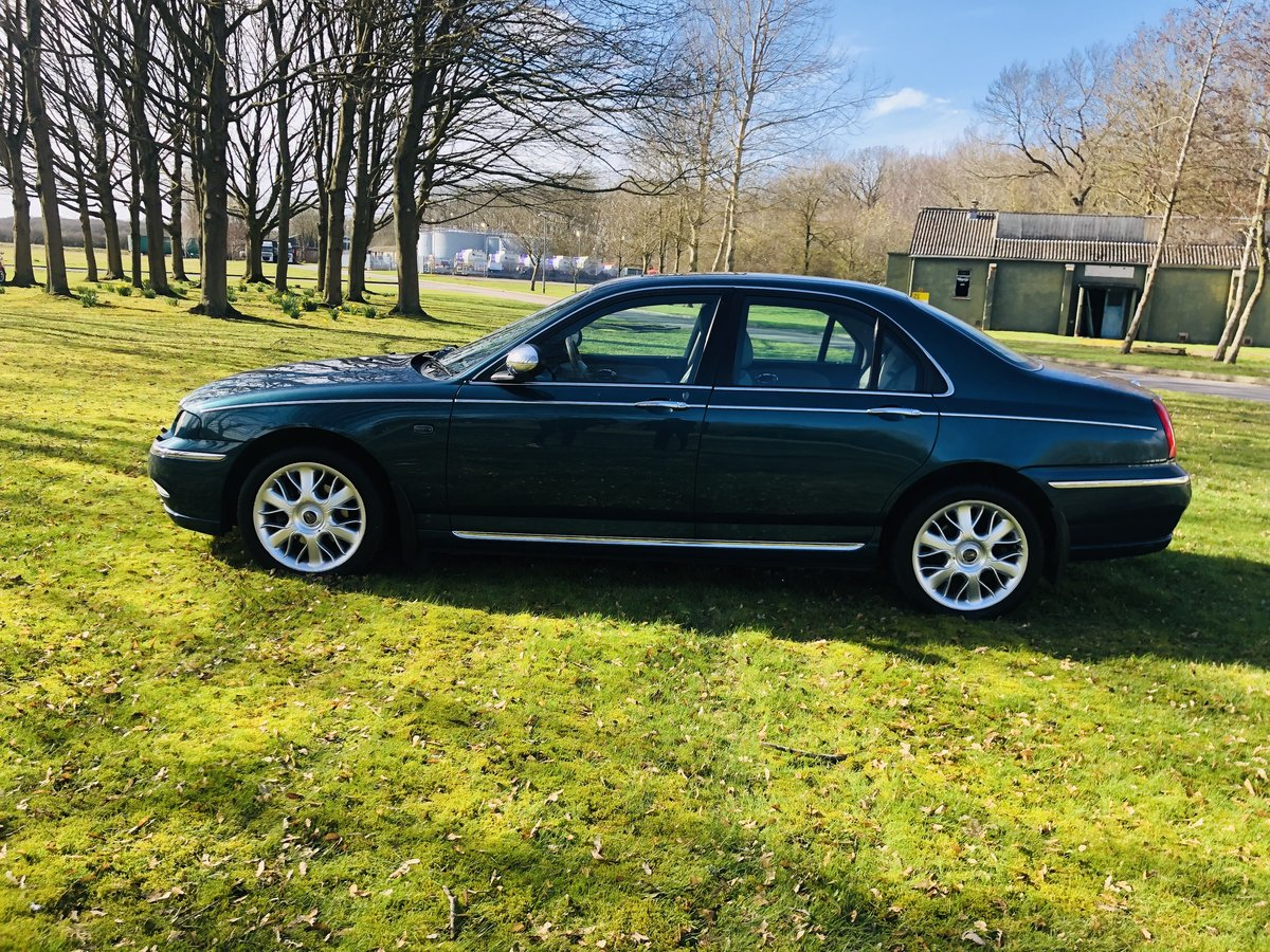 2003 Rover 75 Connoisseur Se Saloon v6  For Sale (picture 3 of 6)