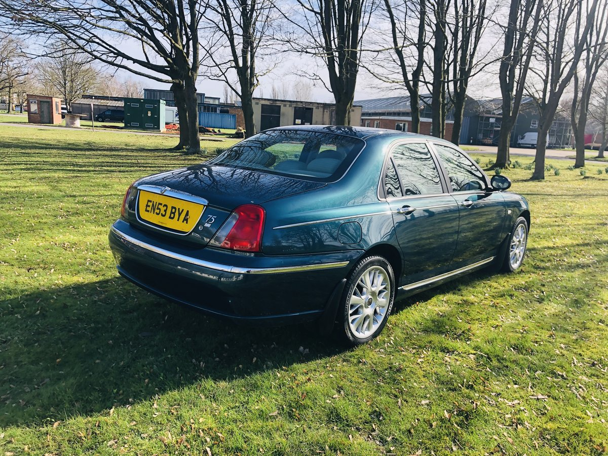 2003 Rover 75 Connoisseur Se Saloon v6  For Sale (picture 4 of 6)
