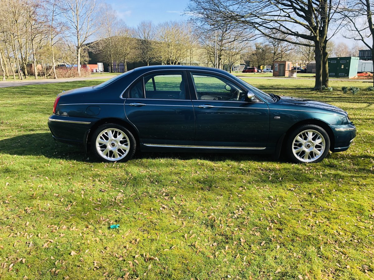 2003 Rover 75 Connoisseur Se Saloon v6  For Sale (picture 5 of 6)