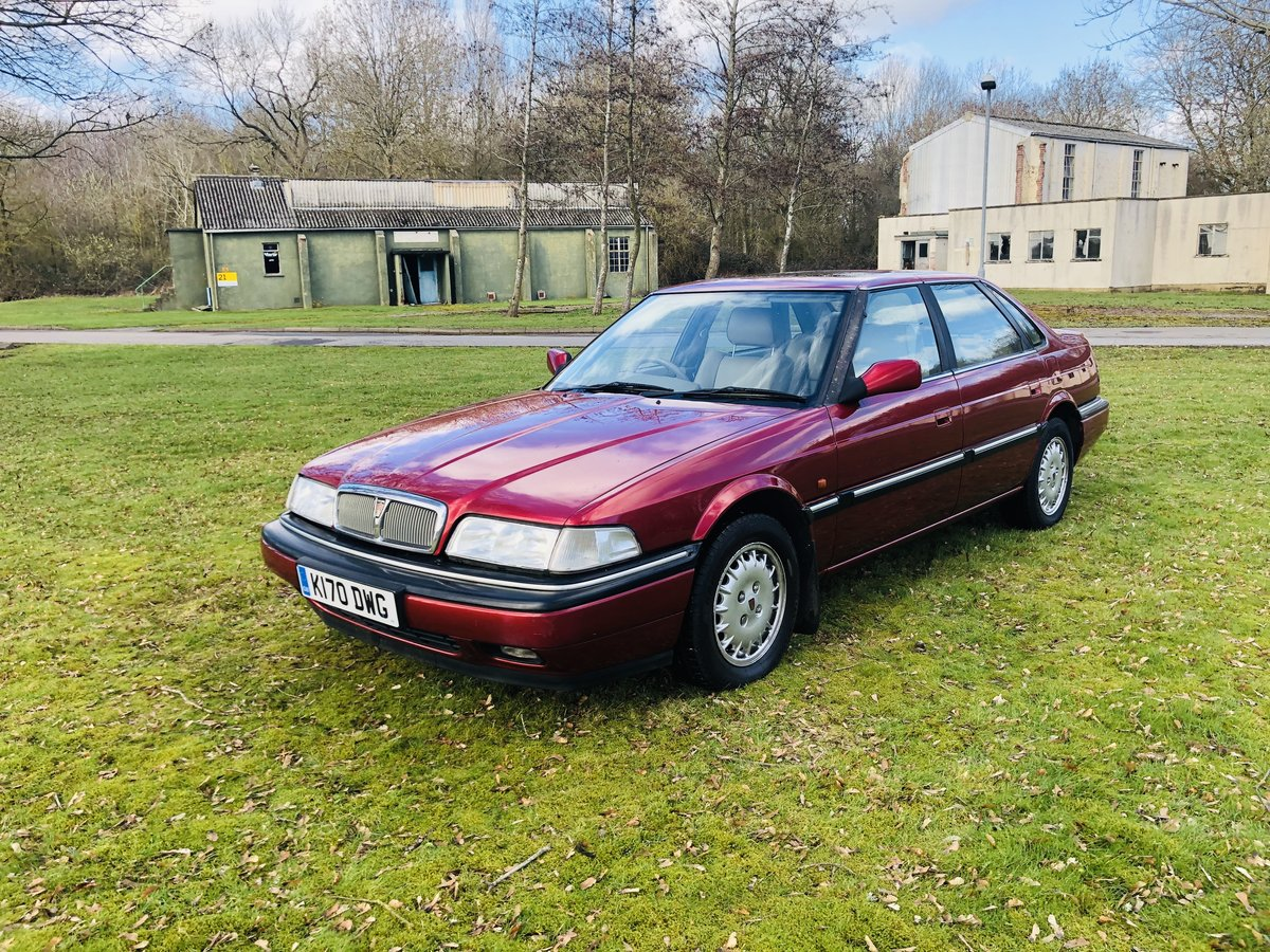 1992 Rover 827 Sterling SALOON V6 24Valve Honda Engine  For Sale (picture 2 of 6)