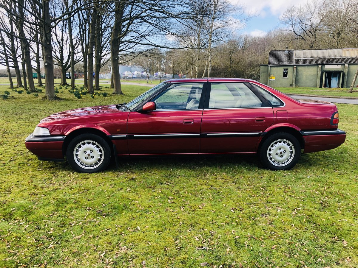 1992 Rover 827 Sterling SALOON V6 24Valve Honda Engine  For Sale (picture 3 of 6)