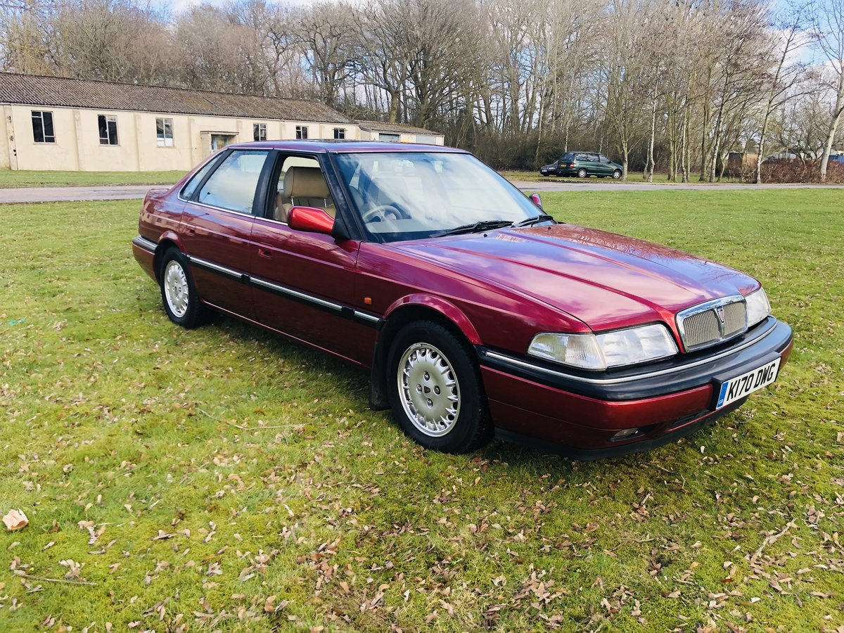 1992 Rover 827 Sterling SALOON V6 24Valve Honda Engine  For Sale (picture 5 of 6)
