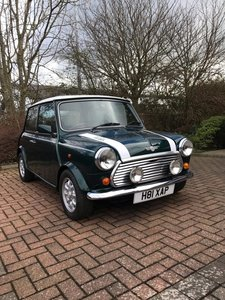 **MARCH AUCTION**1990 Rover Mini Cooper RSP
