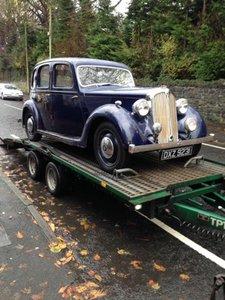 1939 rover p2 blue