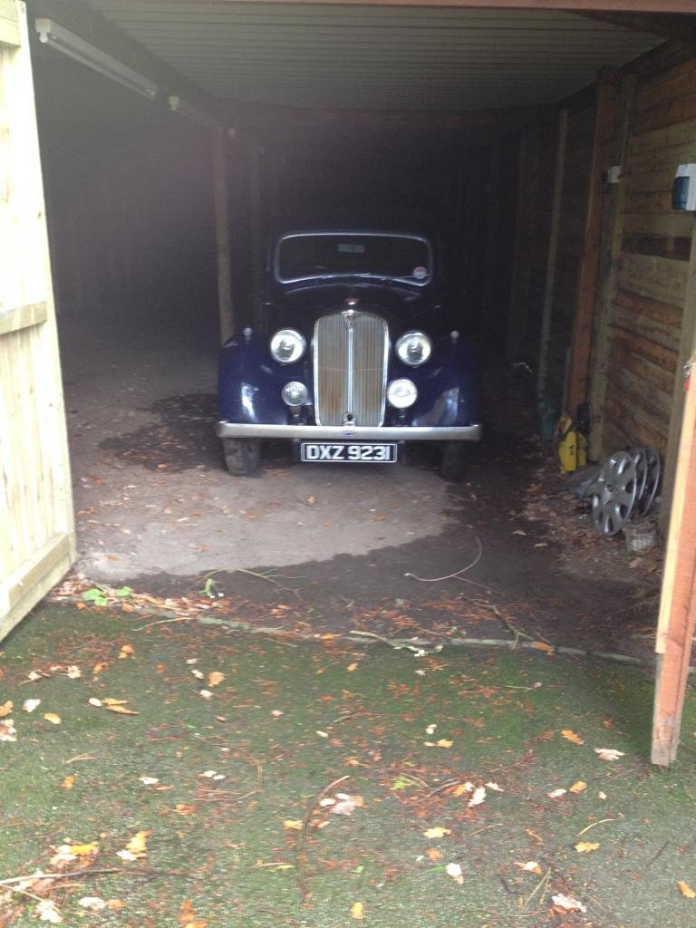 1939 Rover P2 Blue For Sale (picture 3 of 4)