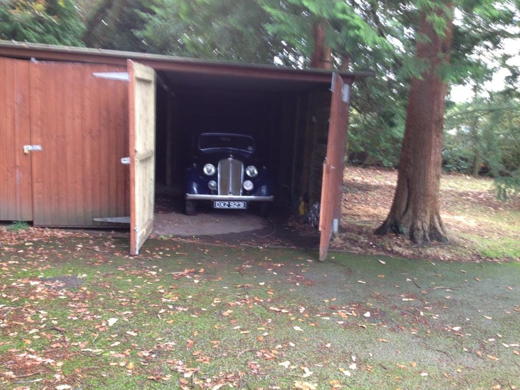 1939 Rover P2 Blue For Sale (picture 4 of 4)