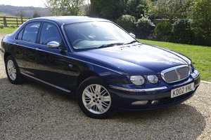 2002 Rover 75 2.5 V6 Connoisseur SE Low Milage 33,500 For Sale