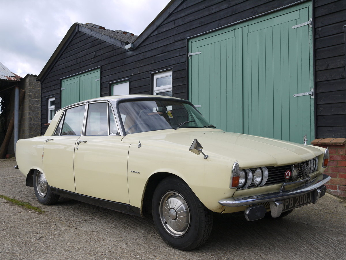 1966 ROVER P6 2000 SALOON - ONE OWNER FROM NEW !! SOLD (picture 1 of 6)