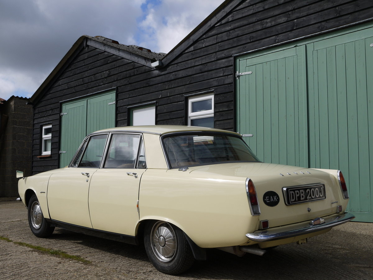 1966 ROVER P6 2000 SALOON - ONE OWNER FROM NEW !! SOLD (picture 2 of 6)