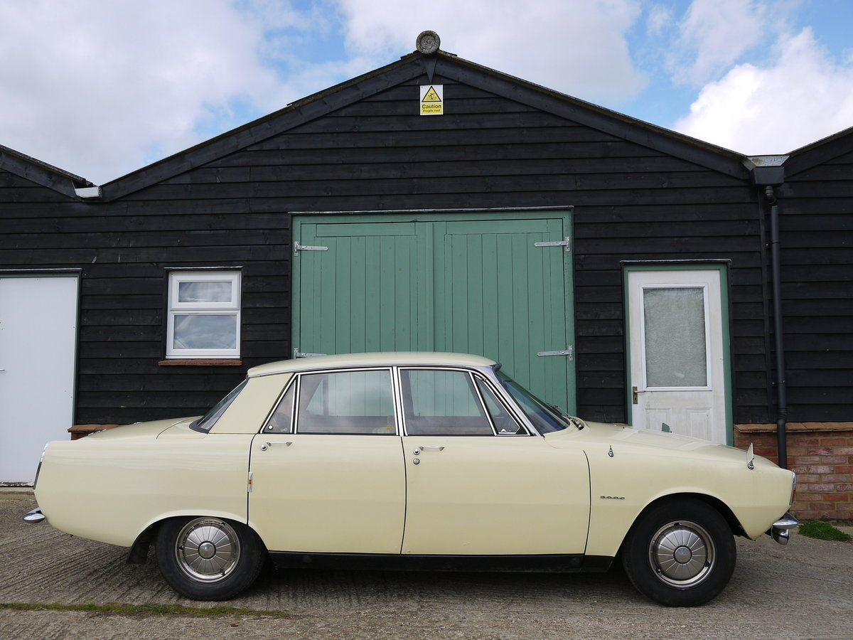 1966 ROVER P6 2000 SALOON - ONE OWNER FROM NEW !! SOLD (picture 3 of 6)