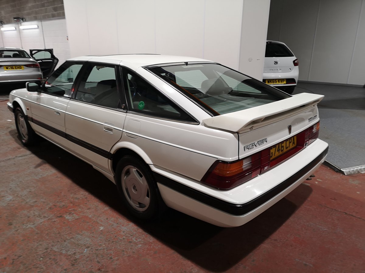 1989 Rover 827i Vetesse fastback mk1 For Sale (picture 1 of 6)