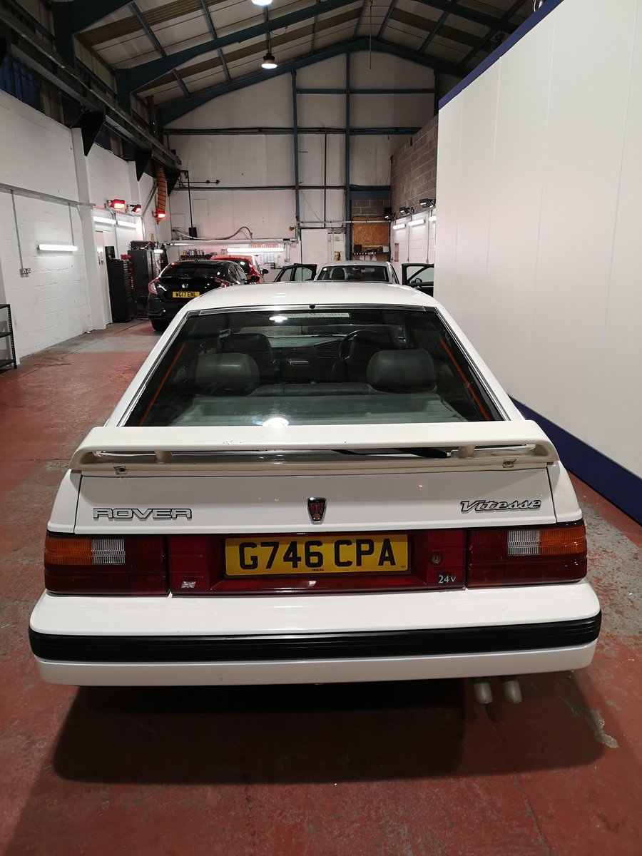 1989 Rover 827i Vetesse fastback mk1 For Sale (picture 4 of 6)