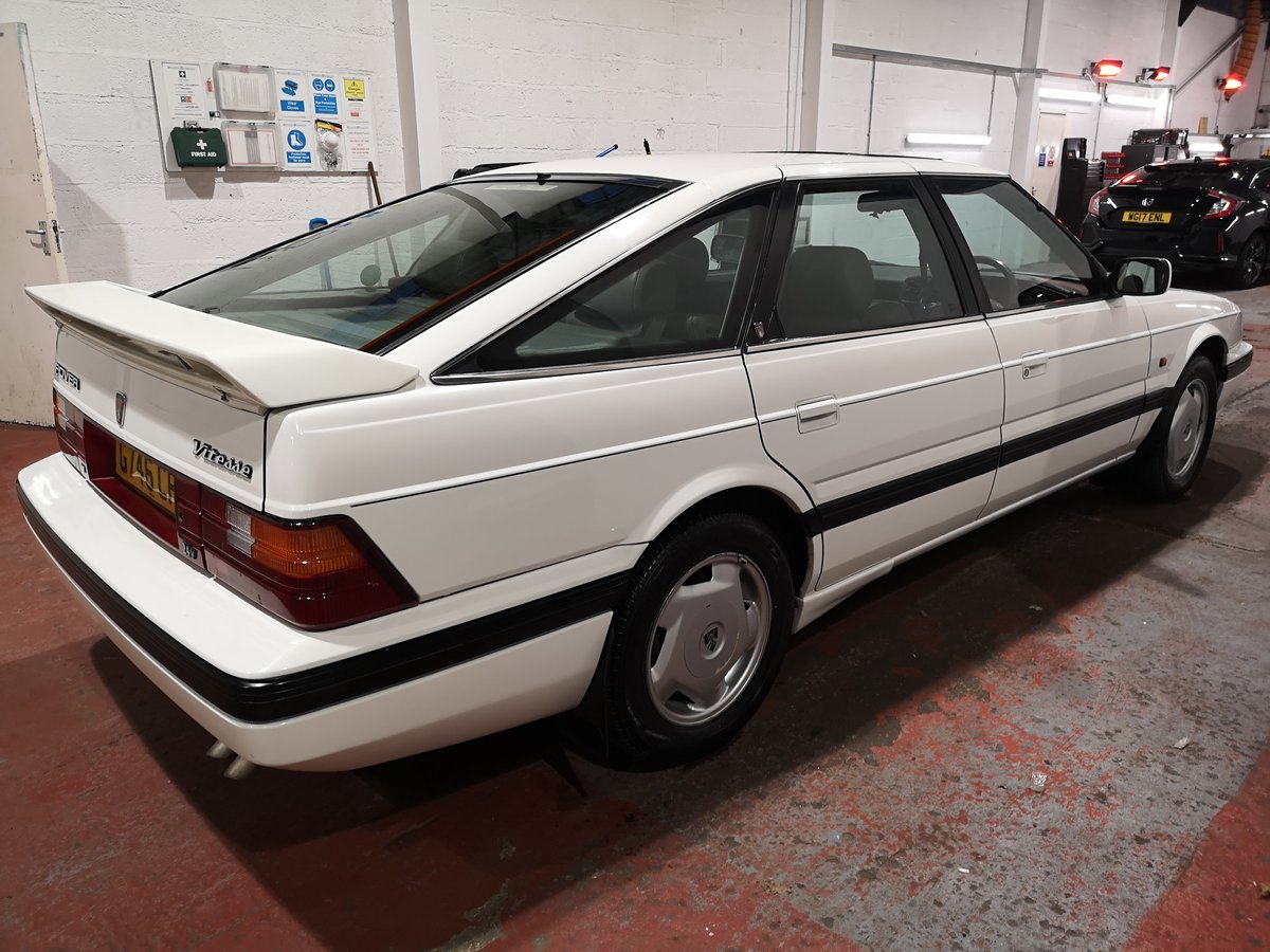 1989 Rover 827i Vetesse fastback mk1 For Sale (picture 6 of 6)