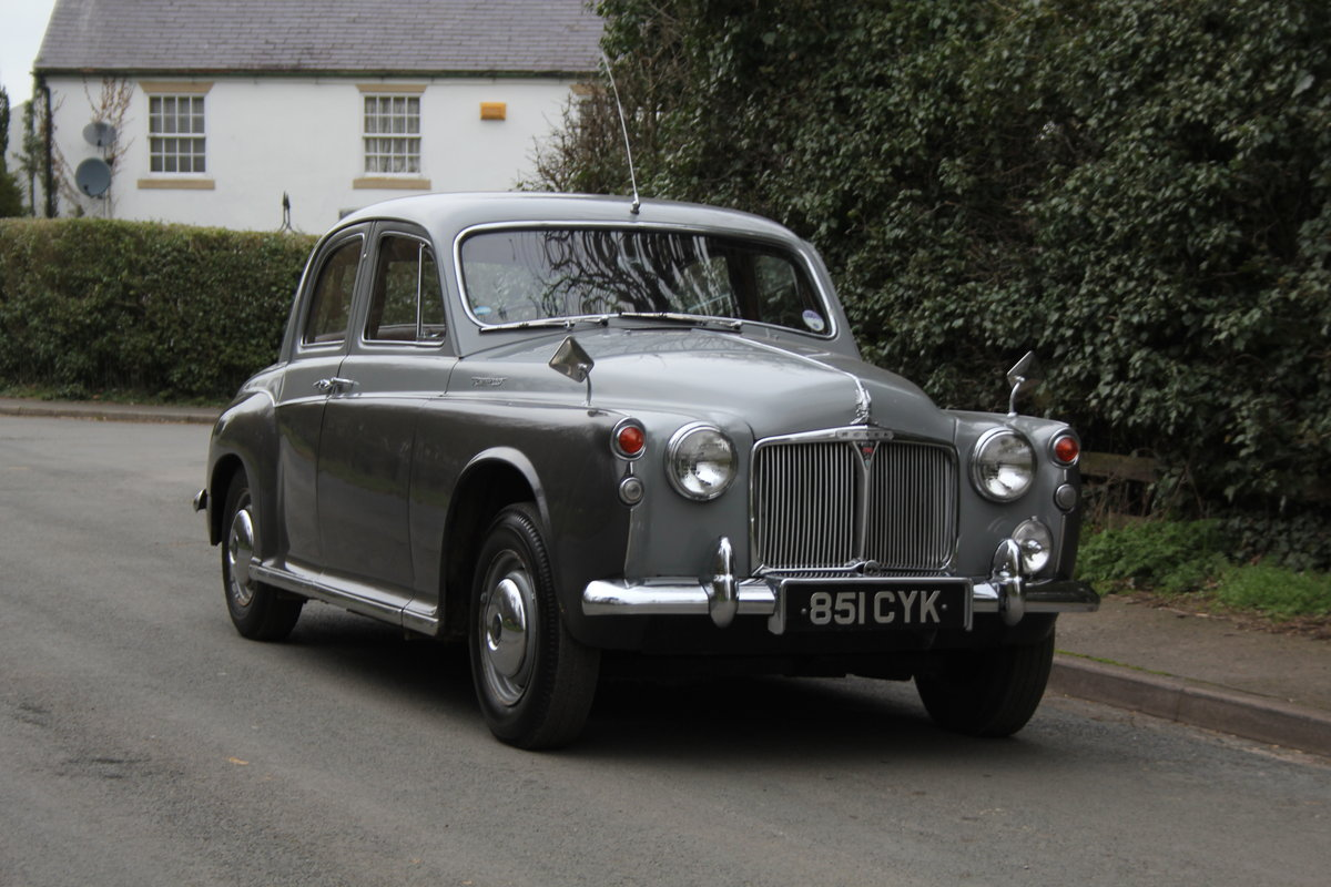 1961 Rover P4 100 SOLD (picture 1 of 12)