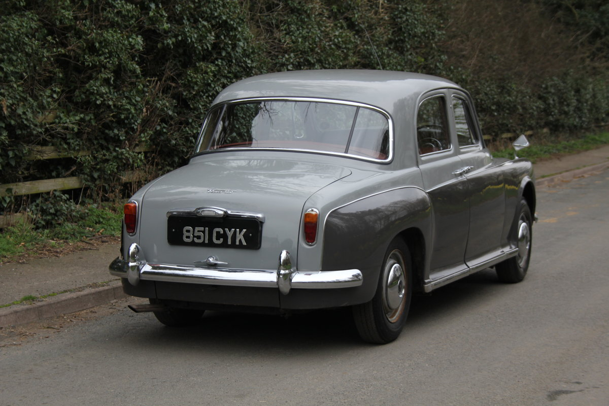 1961 Rover P4 100 SOLD (picture 5 of 12)