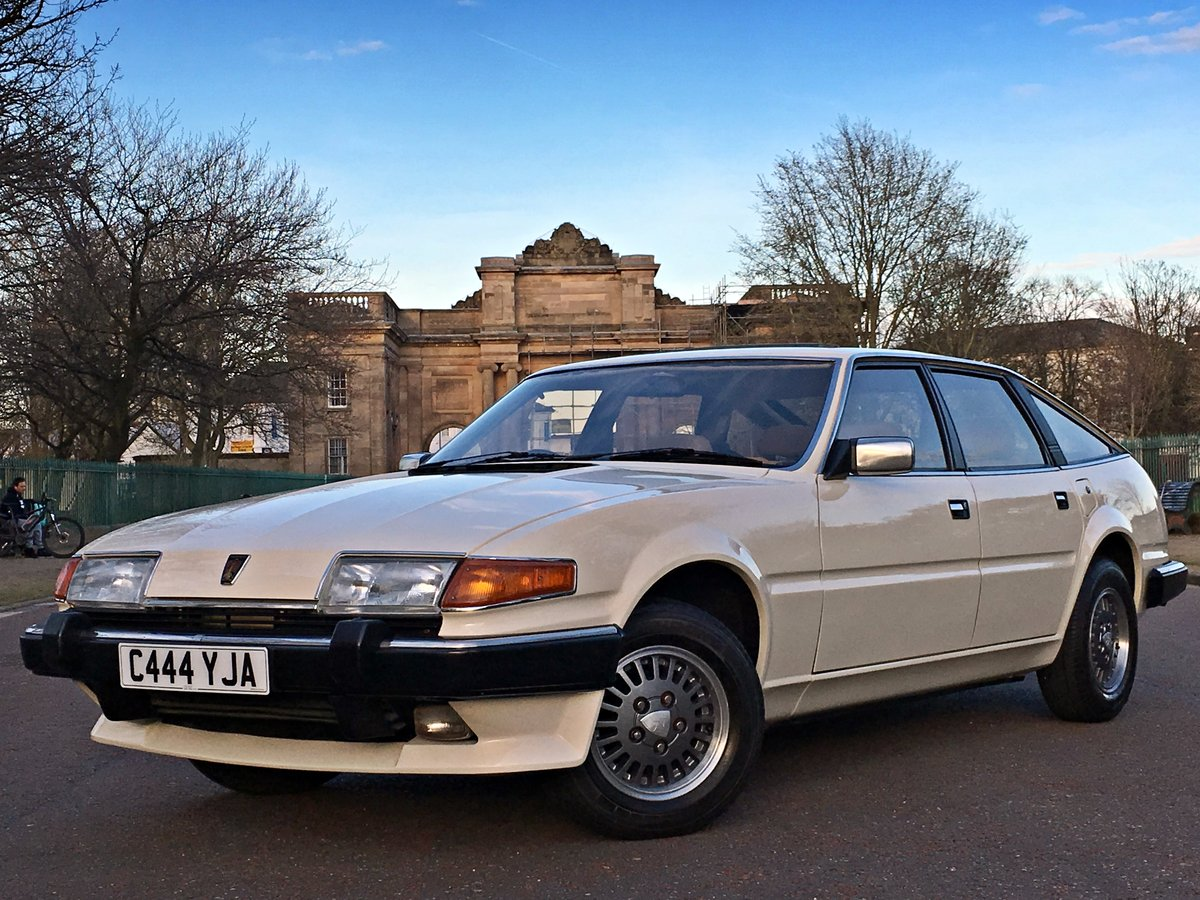 1985 Rover SD1 3500 V8 Vanden Plas Manual - 66,984 MILES For Sale (picture 1 of 6)