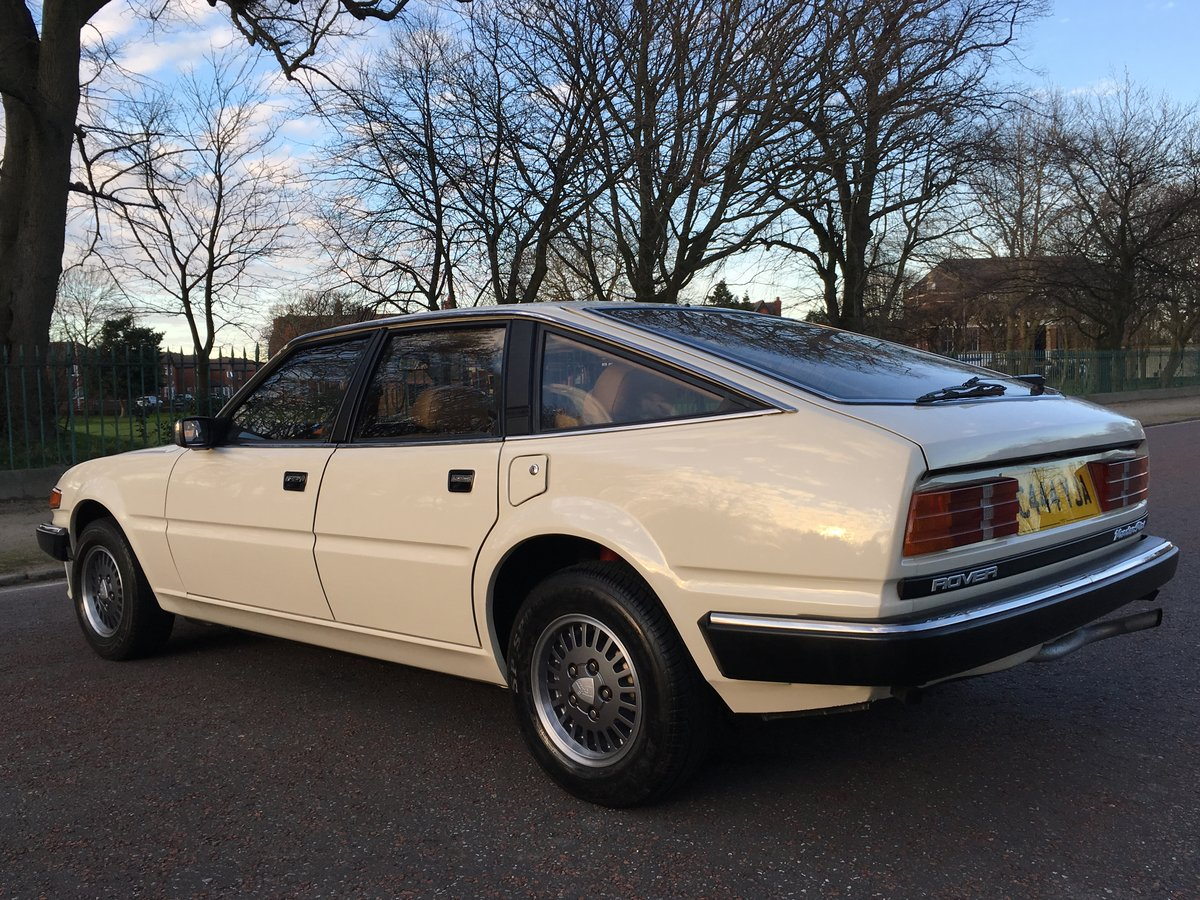 1985 Rover SD1 3500 V8 Vanden Plas Manual - 66,984 MILES For Sale (picture 3 of 6)